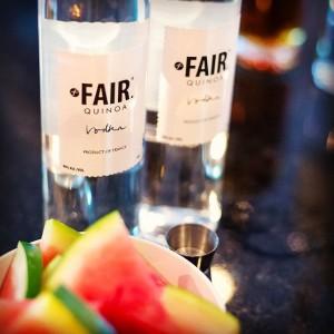 Fair quinoa vodka para los mejores cocktails